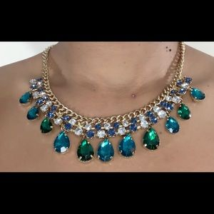 Jewelry - Teardrop Crystal Necklace